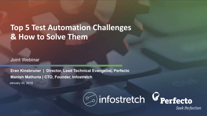 Top 5 Test Automation Challenges